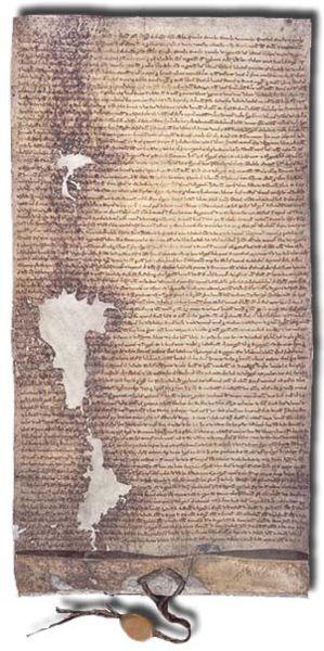 Tam boyut i�in resme t�klay�n.  Ad�:  299px-Magna_Carta.jpg G�sterim: 59 Boyutu:  48.3 KB ID: 12038