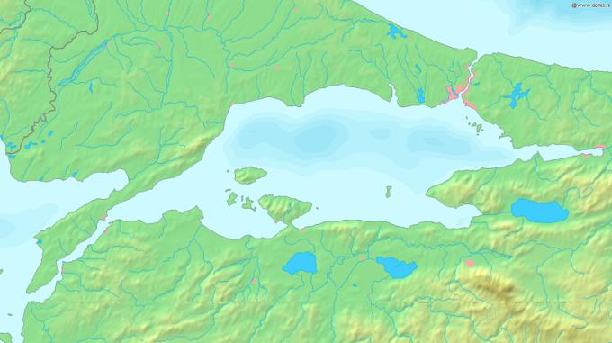Ger�ek boyutunda g�r�nt�lemek i�in resme t�klay�n.  Ad�:  800px-Sea_of_Marmara_map.png G�sterim: 32 Boyutu:  387.8 KB