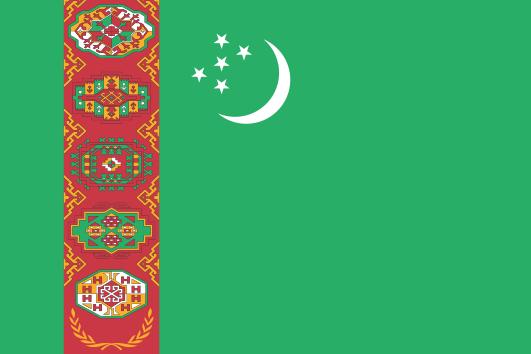 Tam boyut i�in resme t�klay�n.  Ad�:  Turkmenistan.svg.png G�sterim: 37 Boyutu:  57.0 KB ID: 30236