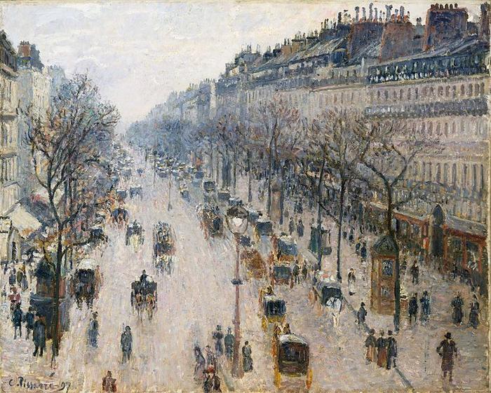 Tam boyut i�in resme t�klay�n.  Ad�:  749px-The_Boulevard_Montmartre_on_a_Winter_Morning.jpg G�sterim: 1 Boyutu:  110.2 KB ID: 31947