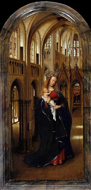 Tam boyut i�in resme t�klay�n.  Ad�:  320px-Jan_van_Eyck_-_The_Madonna_in_the_Church_-_Google_Art_Project.jpg G�sterim: 2 Boyutu:  76.1 KB ID: 32555