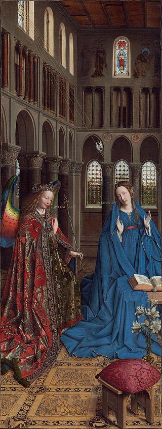Tam boyut i�in resme t�klay�n.  Ad�:  Jan_van_Eyck_-_The_Annunciation_-_Google_Art_Project.jpg G�sterim: 2 Boyutu:  100.1 KB ID: 32559