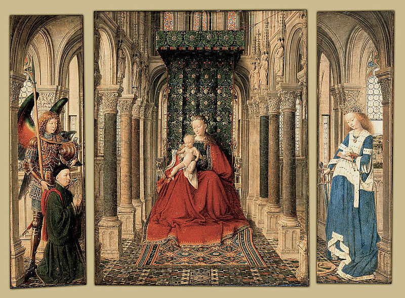 Ad:  Jan_van_Eyck_-_Triptych_of_Mary_and_Child,_St._Michael,_and_the_Catherine_-_Google_Art_Project.jpg