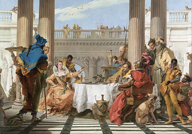 Ad:  800px-Giambattista_Tiepolo_-_The_Banquet_of_Cleopatra_-_Google_Art_Project.jpg