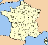 Ad:  FranceRegionsNumbered.jpg G�sterim: 131 Boyut:  11.5 KB
