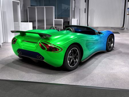 Авто салатового цвета фото