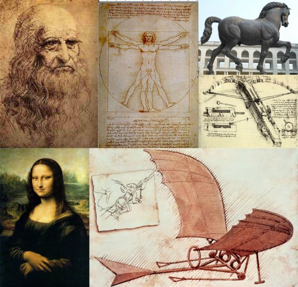the life and times of artist and scientist leonardo da vinci One day, probably during the winter of 1507-08, leonardo da vinci found himself chatting with an old man in the hospital of santa maria nuova in florence sitting on.