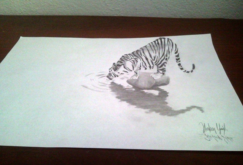 Как рисовать сердце на бумаге