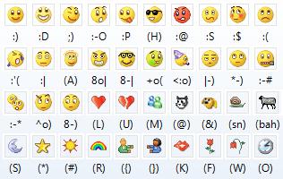 Ad:  MSN-Messenger-Emoticons.png Gösterim: 100 Boyut:  27.6 KB