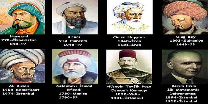 ünlü Türk Ve Islam Matematikçileri Kimlerdir